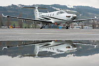 Lions Air HB-FOS Pilatus PC-12/45 Altenrhein - LSZR