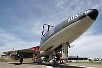 Fliegermuseum Altenrhein HB-RVP Hawker Hunter T.68 Altenrhein - LSZR