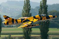 Hunter Flying Group HB-RVV Hawker Hunter T.68 Altenrhein - LSZR