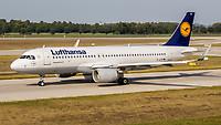 D-AIUX - A320 - Lufthansa