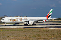 Emirates A6-EMX Boeing 777-31H Malta Int'l - LMML