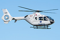 Mont Blanc Hélicoptères F-HMBH Eurocopter EC 135T2+ Basel/Mulhouse EuroAirport - LFSB