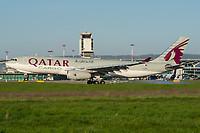 Qatar Airways Cargo A7-AFH Airbus A330-243F Basel/Mulhouse EuroAirport - LFSB