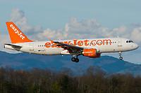 easyJet G-EZTL Airbus A320-214 Basel/Mulhouse EuroAirport - LFSB