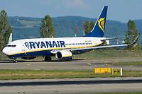 Ryanair EI-DHV Boeing 737-8AS Basel/Mulhouse EuroAirport - LFSB