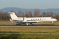 G5 Executive HB-JOE Gulfstream G550 Basel/Mulhouse EuroAirport - LFSB