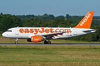easyJet G-EZBT Airbus A319-111 Basel/Mulhouse EuroAirport - LFSB