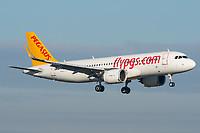 Pegasus Airlines TC-NBB Airbus A320-251N Basel/Mulhouse EuroAirport - LFSB
