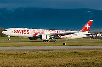 Swiss HB-JNA Boeing 777-3DEER Geneva Int'l - LSGG