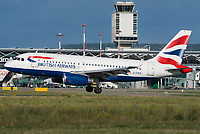 British Airways G-EUPS Airbus A319-131 Basel/Mulhouse EuroAirport - LFSB