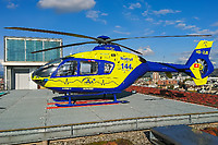 Lions Air HB-ZJE Eurocopter EC 135P1 Other Location - University Hospital of Basel