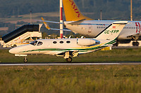 GlobeAir OE-FPP Cessna 510 Citation Mustang Basel/Mulhouse EuroAirport - LFSB
