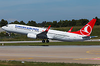 TC-JVU - B738 - Turkish Airlines