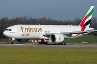 Emirates SkyCargo A6-EFI Boeing 777-F1H Basel/Mulhouse EuroAirport - LFSB