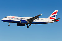 G-GATU - A320 - British Airways
