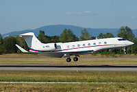 Private M-INSK Gulfstream G650 Basel/Mulhouse EuroAirport - LFSB