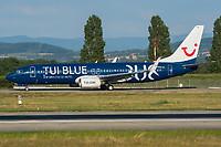 TUI D-ATUD Boeing 737-8K5 Basel/Mulhouse EuroAirport - LFSB
