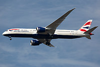G-ZBKN - B789 - British Airways