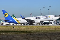 UR-PSU - B738 - Ukraine Int. Airlines
