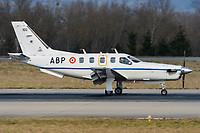 France - Air Force 100 Socata TBM-700 Basel/Mulhouse EuroAirport - LFSB