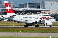 Swiss HB-JBA Bombardier BD-500-1A10 CSeries CS100  Zurich-Kloten Airport - LSZH