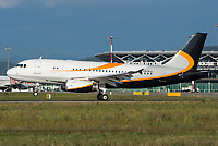 Private P4-RLA Airbus A319-133X(CJ) Basel/Mulhouse EuroAirport - LFSB
