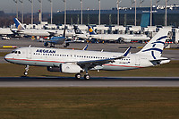 SX-DNB - A320 - Olympic Air