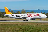 Pegasus Airlines TC-DCI Airbus A320-216 Basel/Mulhouse EuroAirport - LFSB