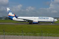 SunExpress TC-SEY Boeing 737-8HC Basel/Mulhouse EuroAirport - LFSB