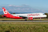 Air Berlin (Belair Airlines) HB-IOR Airbus A320-214 Basel/Mulhouse EuroAirport - LFSB