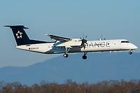 Austrian Airlines OE-LGQ Bombardier Dash 8-Q402 Basel/Mulhouse EuroAirport - LFSB