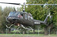 Private N6195G Bell UH-1H Iroquois Altenrhein - LSZR