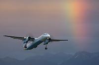 Austrian arrows (Tyrolean Airways) OE-LGC Bombardier Dash 8-Q402 Altenrhein - LSZR