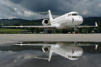 Private N4T Bombardier BD-700-1A10 Global Express XRS Altenrhein - LSZR