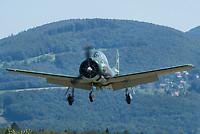 Private F-AZKG North American T-28A Fennec Dittingen - LSPD