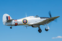 Private G-CBOE Hawker Hurricane Mk.IIB Dittingen - LSPD
