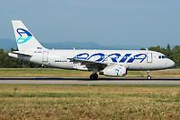 Adria Airways S5-AAR Airbus A319-132 Basel/Mulhouse EuroAirport - LFSB