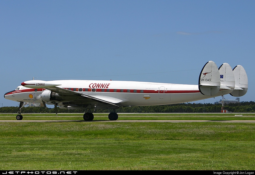 Photo of VH-EAG Lockheed C-121C Super Constellation by Jon Logan