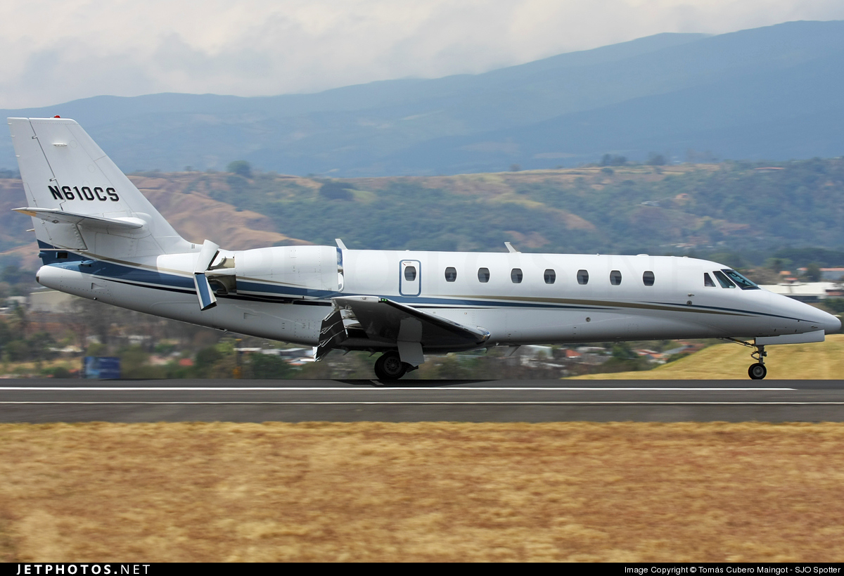 Photo of N610CS Cessna 680 Citation Sovereign by Tomás Cubero Maingot - SJO Spotter