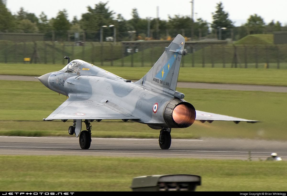 Photo of 11 Dassault Mirage 2000C by Brian Whitelegg