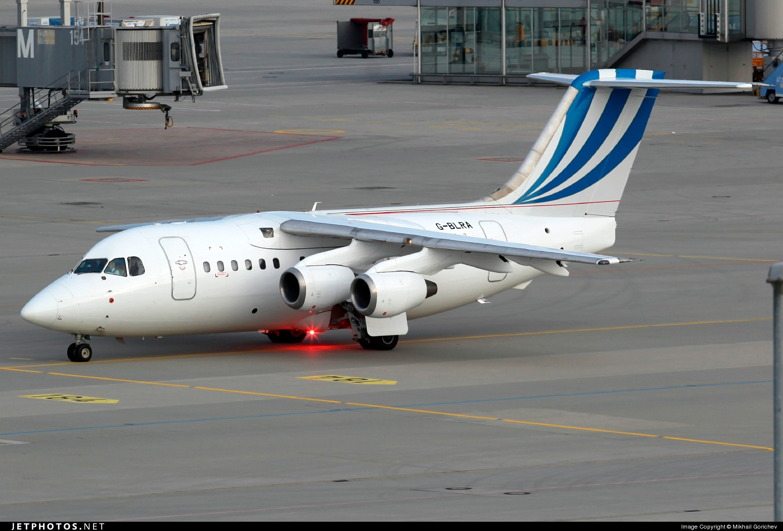 Photo of G-BLRA British Aerospace BAe 146-100 by Mikhail Gorichev