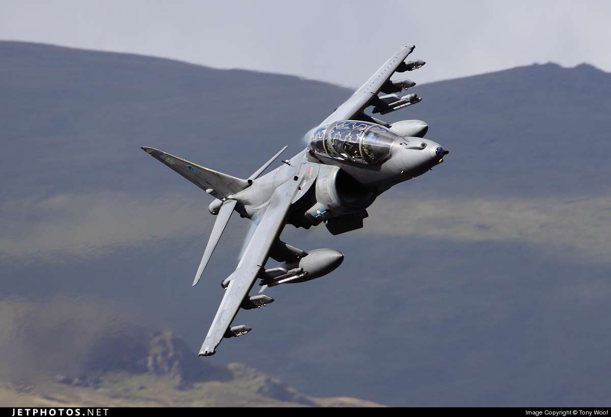 Photo of ZH661 British Aerospace Harrier T.12 by Tony Woof