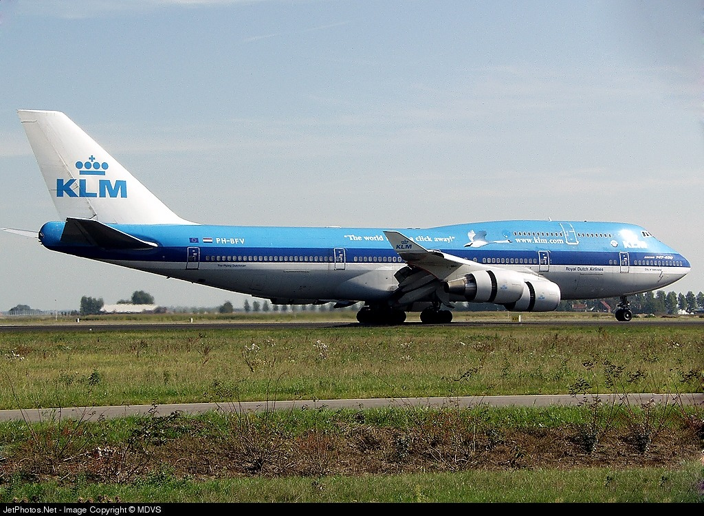 Photo of PH-BFV Boeing 747-406(M) by MDVS