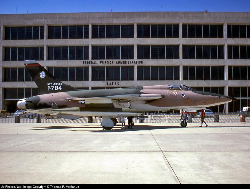 Photo of 57-5784 Republic F-105B Thunderchief by Thomas P. McManus