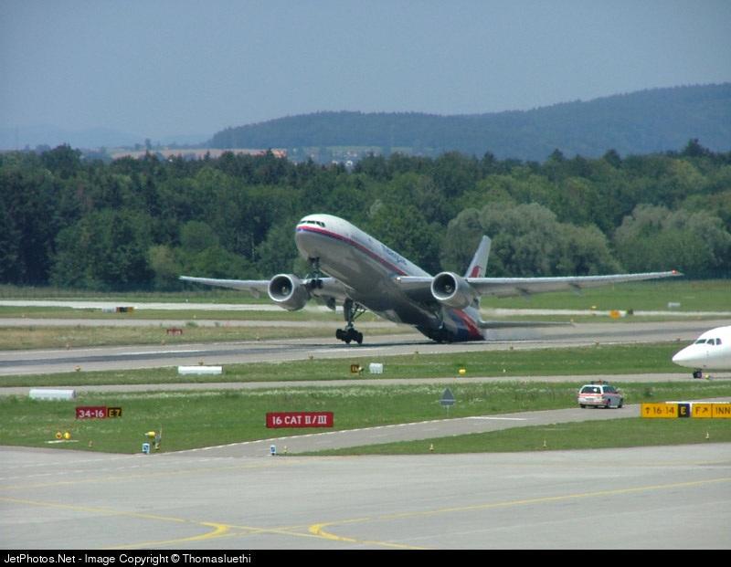 Photo of 9M-MRJ Boeing 777-2H6(ER) by Thomas Luethi