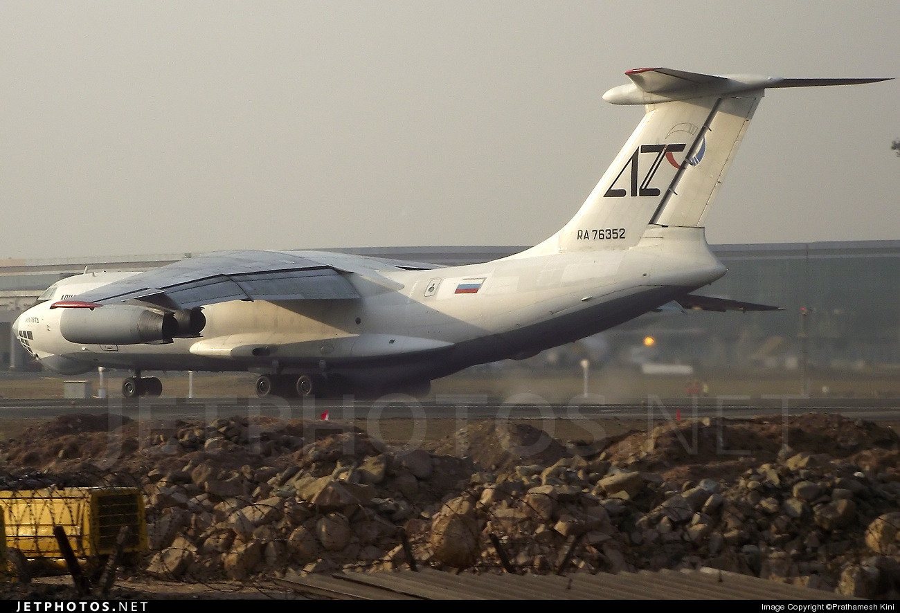 Photo of RA-76352 Ilyushin IL-76TD by Prathamesh Kini
