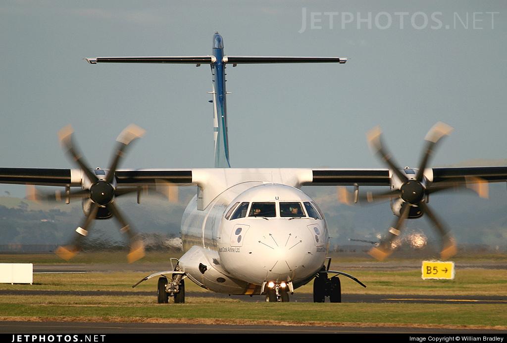 Photo of ZK-MCU ATR 72-212A(500) by William Bradley