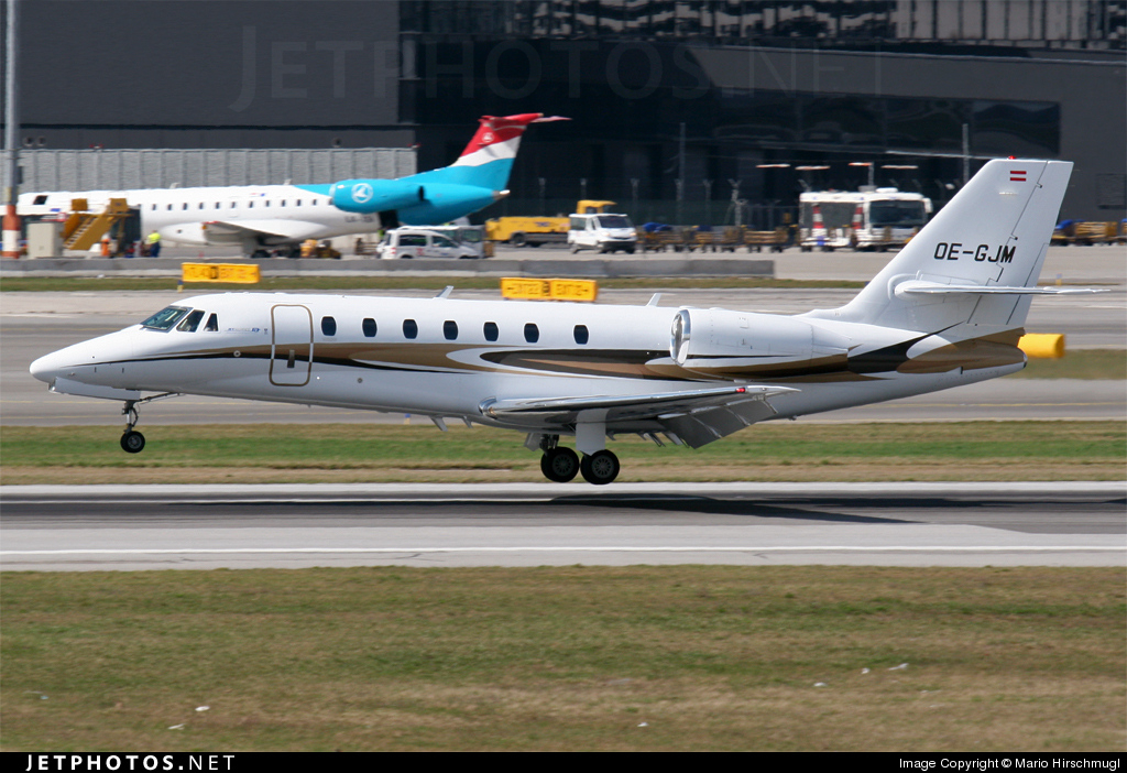 Photo of OE-GJM Cessna 680 Citation Sovereign by Mario Hirschmugl