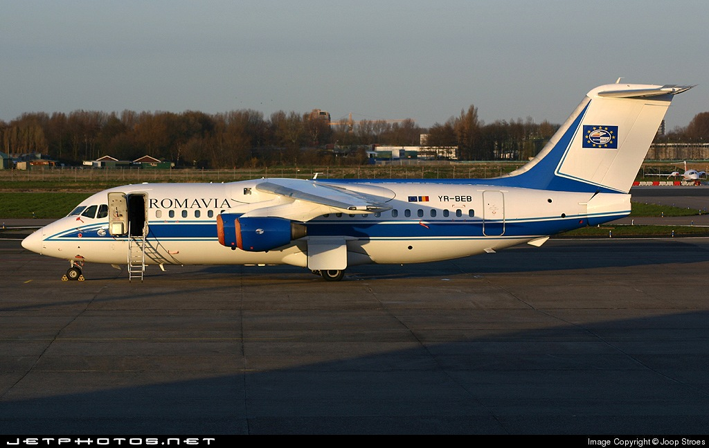 Photo of YR-BEB British Aerospace BAe 146-200 by Joop Stroes - NYCAviation
