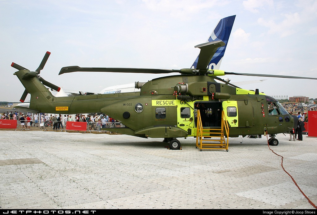 Photo of M-503 Agusta-Westland EH-101 Merlin by Joop Stroes - NYCAviation